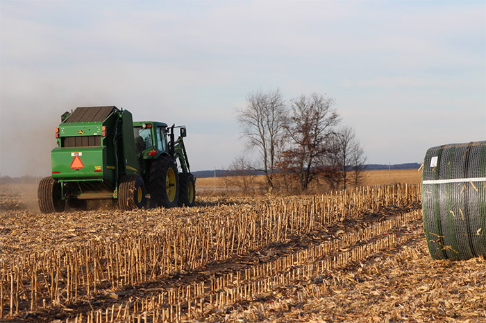 B-Wrap® Net Wrap | Crop Protection | Tama USA