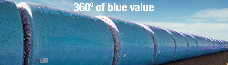 TamaWrap<sup>™</sup> Blue for cotton